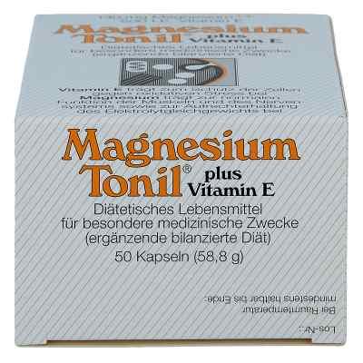 Magnesium Tonil plus wit. E kapsułki  zamów na apo-discounter.pl