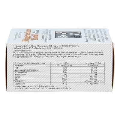 Magnesium Tonil Magnez + wit. E kapsułki