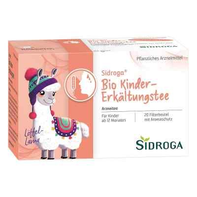 Sidroga Bio herbatka dla dzieci na przeziębienie   zamów na apo-discounter.pl