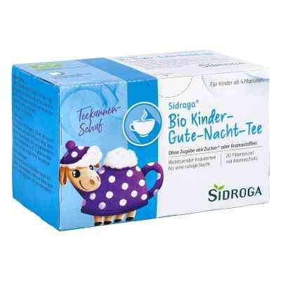 Sidroga Bio Kinder herbata dla dzieci na dobry sen saszetki (20   zamów na apo-discounter.pl