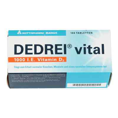 Dedrei vital tabletki  zamów na apo-discounter.pl