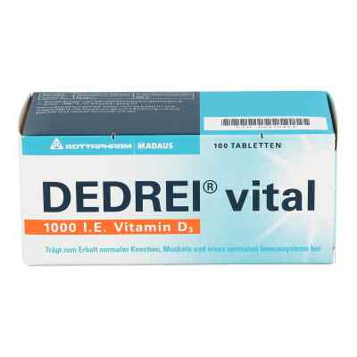 Dedrei vital tabletki