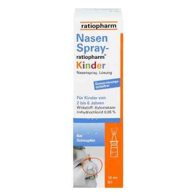 Ratiopharm Spray do nosa dla dzieci  zamów na apo-discounter.pl