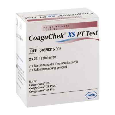 Coagu Chek Xs Pt Test  zamów na apo-discounter.pl