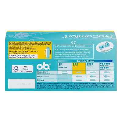 O.b. Tampons Procomfort normal  zamów na apo-discounter.pl