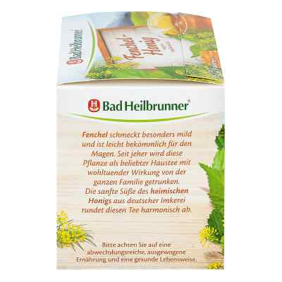 Bad Heilbrunner Tee Fenchel Honig Btl.  zamów na apo-discounter.pl