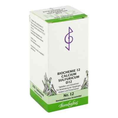 Biochemie 12 Calcium sulfuricum D 12 Tabl.  zamów na apo-discounter.pl