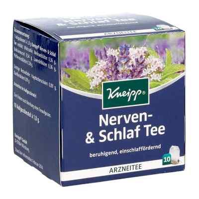 Kneipp herbata uspokajająco-nasenna saszetki  zamów na apo-discounter.pl