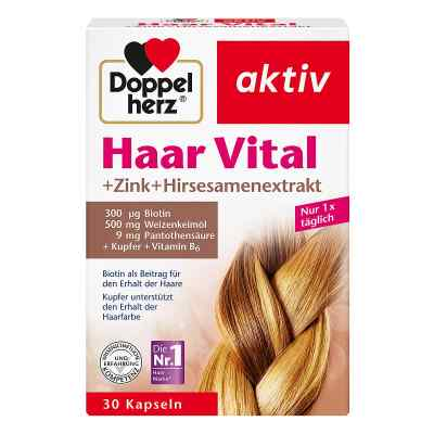 Doppelherz Haar Vital +cynk+wyciąg z prosa  zamów na apo-discounter.pl