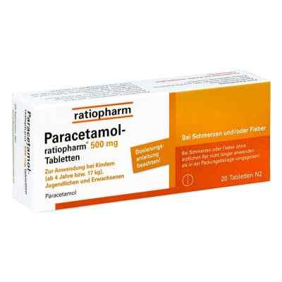 Paracetamol ratiopharm 500 mg tabletki  zamów na apo-discounter.pl
