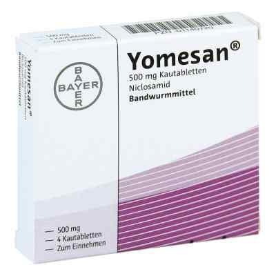Yomesan Tabletki do żucia 500 mg  zamów na apo-discounter.pl