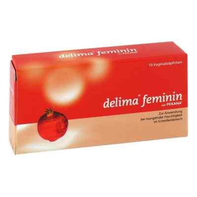 Delima feminin globulki zwalczające suchość pochwy