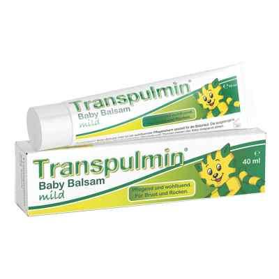 Transpulmin Baby Balsam mild  zamów na apo-discounter.pl