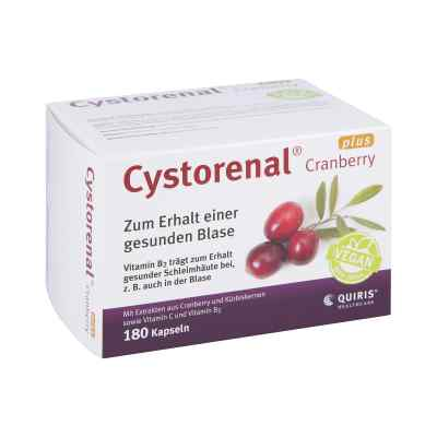 Cystorenal Cranberry plus kapsułki z żórawiną  zamów na apo-discounter.pl