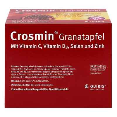 Crosmin kapsułki z ekstraktem z granatu  zamów na apo-discounter.pl
