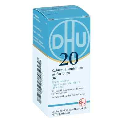 Biochemie Dhu 20 Kalium alum.sulfur. D 6 Tabl.  zamów na apo-discounter.pl