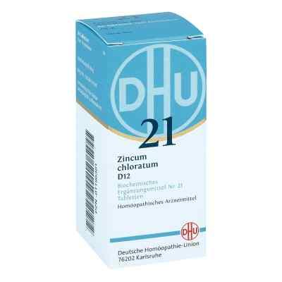 Biochemie Dhu 21 Zincum chloratum D 12 Tabl.  zamów na apo-discounter.pl