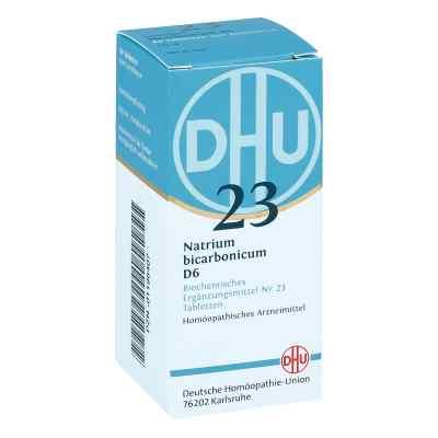 Biochemie Dhu 23 Natrium bicarbonicum D 6 Tabl.  zamów na apo-discounter.pl