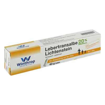 Lebertran Salbe 20% Lichtenstein  zamów na apo-discounter.pl