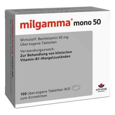 Milgamma mono 50, tabletki powlekane