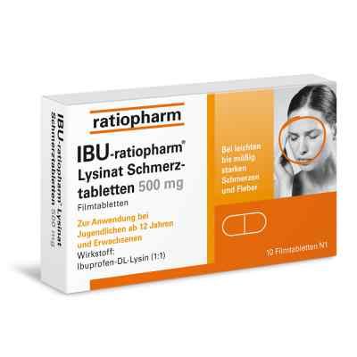 IBU Ratiopharm Lysinat 500 mg lek przeciwbólowy