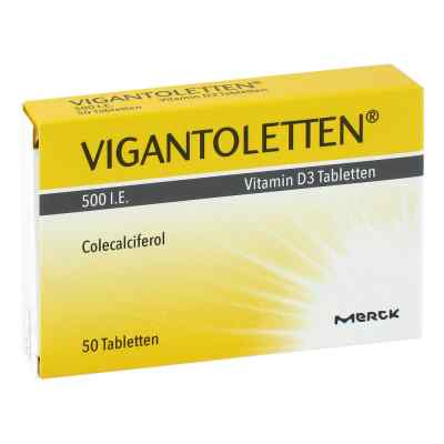 Vigantoletten 500 I.e. Vitamin D3 Tabletten