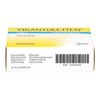 Vigantoletten 1000 I.e. Vitamin D3 Tabletten