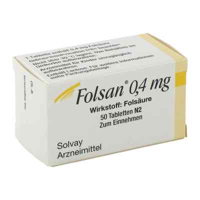 Folsan 0,4 mg Tabl.