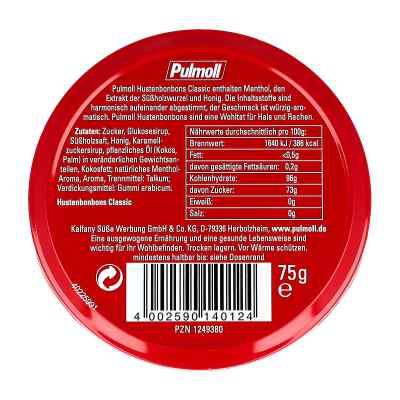Pulmoll Classic cukierki na kaszel  zamów na apo-discounter.pl