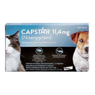 Capstar 11,4 mg f.Katzen u.kleine Hunde Tabl.  zamów na apo-discounter.pl