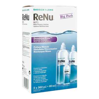 Renu Mps Big Box 2x360ml+1x60ml  zamów na apo-discounter.pl