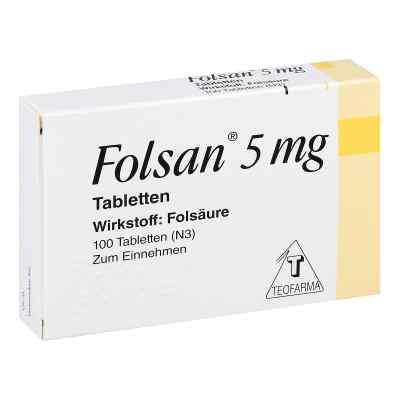 Folsan 5 mg Tabl.  zamów na apo-discounter.pl