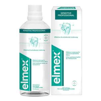 Elmex Sensitive Profesjonalny płyn do płukania  zamów na apo-discounter.pl