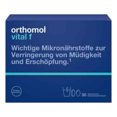 Orthomol Vital F 30 granulat/kapsułki  zamów na apo-discounter.pl
