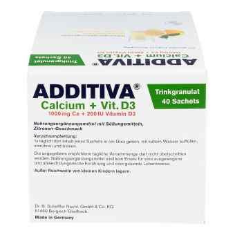 Additiva Wapń 1000 mg + vit.D3 - saszetki  zamów na apo-discounter.pl