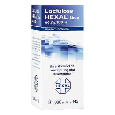 Lactulose Hexal Sirup  zamów na apo-discounter.pl