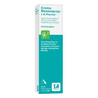 Cromo Nasenspray 1a Pharma  zamów na apo-discounter.pl