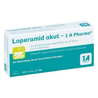 Loperamid akut 1a Pharma kapsułki   zamów na apo-discounter.pl