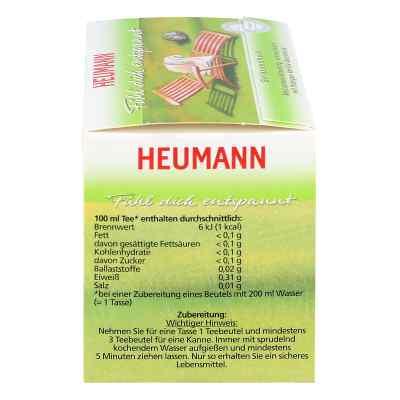 Heumann herbata poczuj się rozluźniony w saszetkach  zamów na apo-discounter.pl