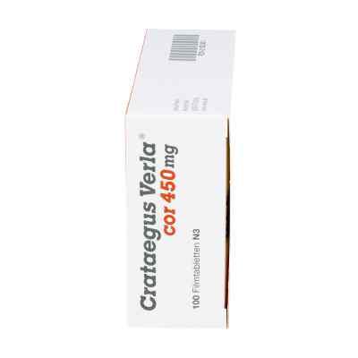 Crataegus Verla Cor 450 mg Filmtabl.  zamów na apo-discounter.pl