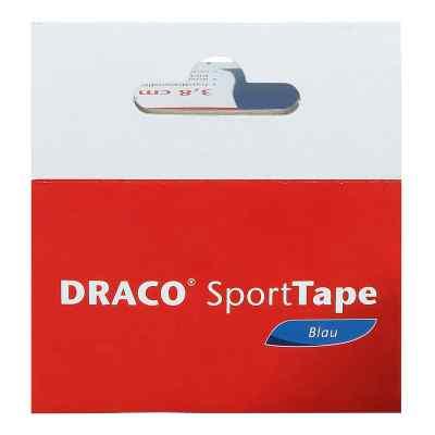 Draco taśma dla sportowców 10mx3,8cm niebieska