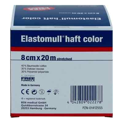 Elastomull haft color 20mx8cm blau Fixierb.  zamów na apo-discounter.pl