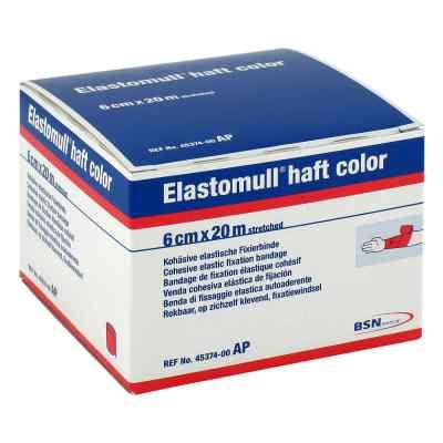 Elastomull haft color 20mx6cm rot Fixierb.  zamów na apo-discounter.pl