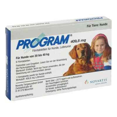 Program Tabl.f.hunde 409,8mg 20-40kg  zamów na apo-discounter.pl