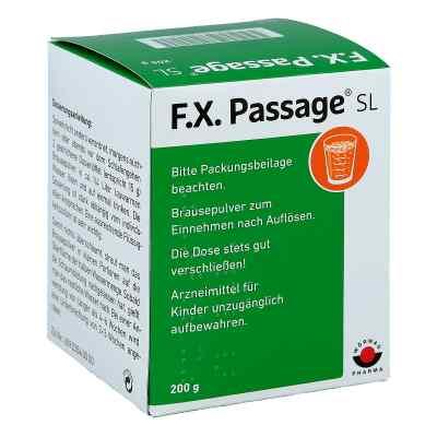F.x. Passage Sl Pulver  zamów na apo-discounter.pl