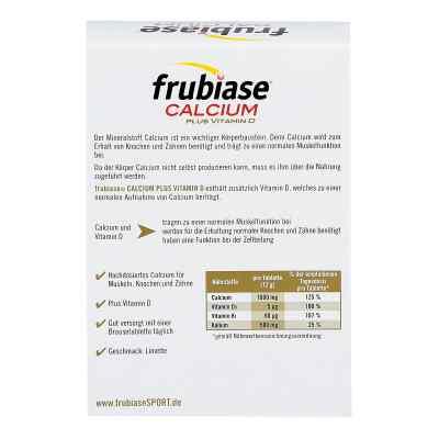 Frubiase Wapń +witamina D tabletki musujące