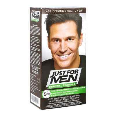 Just for men szampon koloryzujący czarny   zamów na apo-discounter.pl