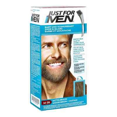 Just for men Brush żel koloryzujący średni brąz