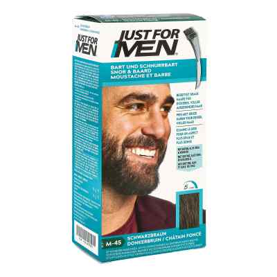 Just for men Brush in Color Gel schwarzbraun  zamów na apo-discounter.pl