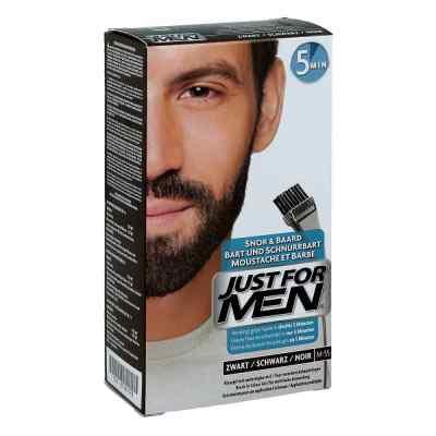 Just for men Brush żel koloryzujący czarny